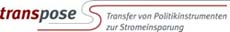 Transpose (TRANSfer von POlitikinstrumenten zur StromEinsparung) - Transfer of Electricity Saving Policies